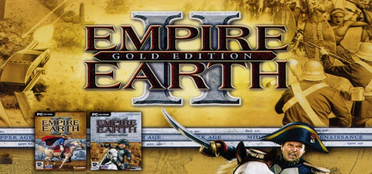 Empire Earth II Gold Edition Free Download PC Game
