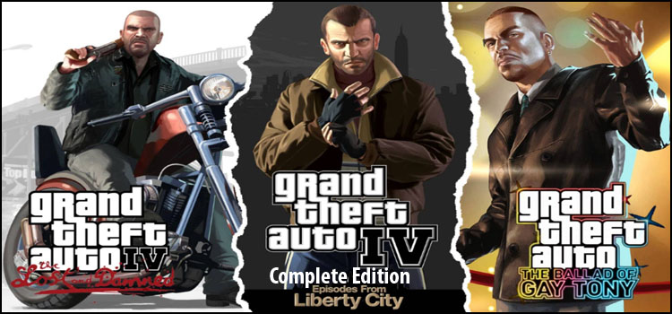 GTA 4 Complete Edition Free Download Full PC Game