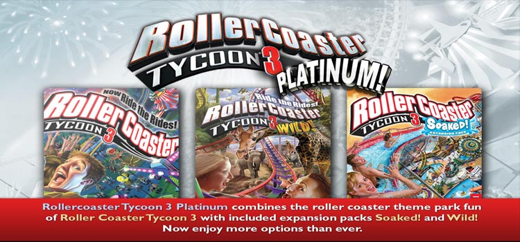 RollerCoaster Tycoon 3 Platinum Free Download PC Game