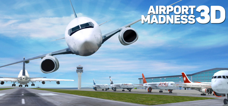 Airport Madness 4 full screen - free online games on PC