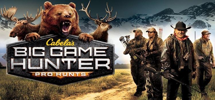 Cabelas Big Game Hunter Pro Hunts Free Download PC