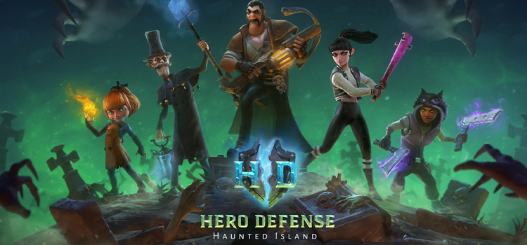 Hero Defense Haunted Island Free Download PC Game