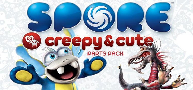 SPORE Creepy And Cute Parts Pack Free Download PC Game
