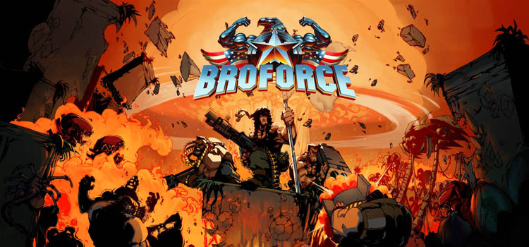 BROFORCE Free Download Full PC Game