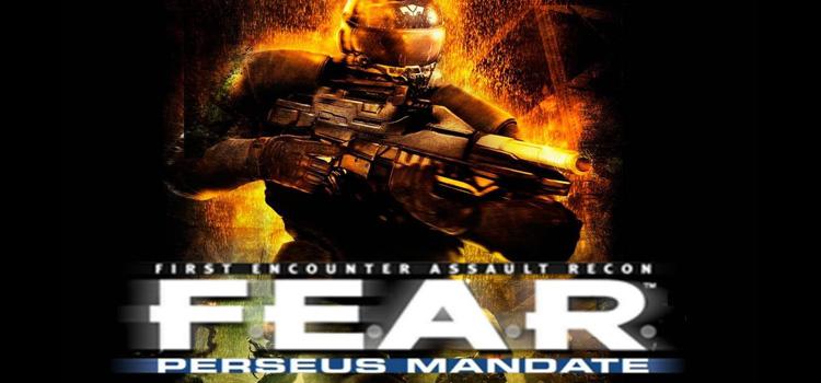 FEAR Perseus Mandate Free Download FULL PC Game