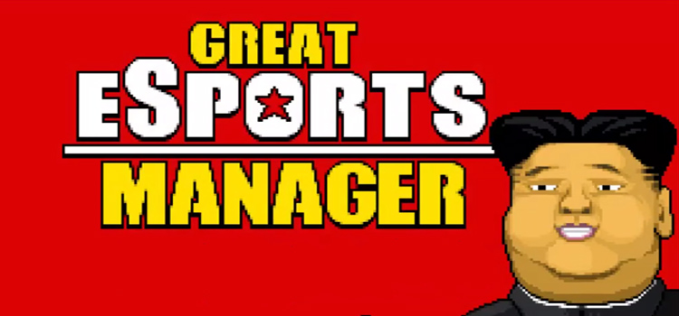 Great eSports Manager Free Download Full Version PC Game