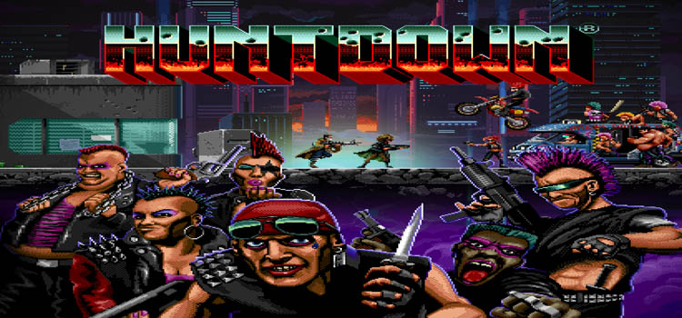 HUNTDOWN Free Download FULL Version Cracked PC Game