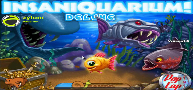 Insaniquarium Deluxe Free Download Full Version PC Game