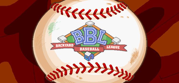 Backyard Baseball Free Download FULL Version PC Game