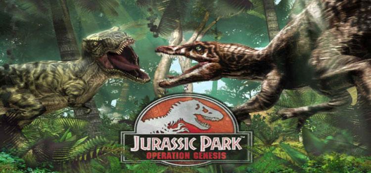 Jurassic Park Operation Genesis Free Download Full PC Game