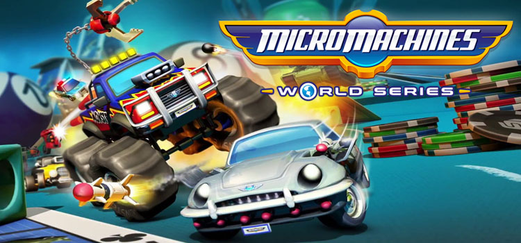 Micro Machines World Series Free Download Full PC Game
