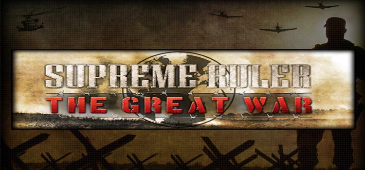 Supreme Ruler The Great War Free Download FULL Game