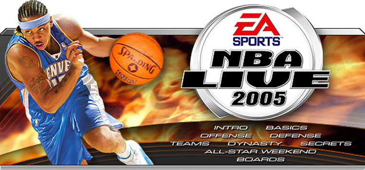 NBA Live 2005 Free Download FULL Version Cracked PC Game