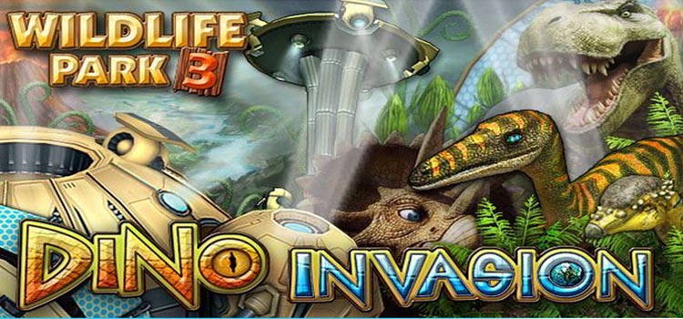 Wildlife Park 3 Dino Invasion Free Download FULL PC Game