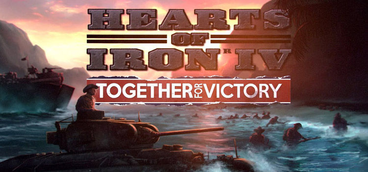 Hearts Of Iron 4 Together For Victory Free Download PC Game