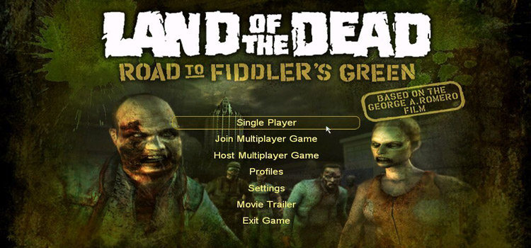 Land Of The Dead Road To Fiddlers Green Free Download PC