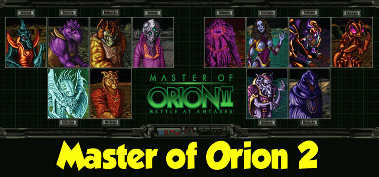 Master Of Orion 2 Free Download FULL Version PC Game