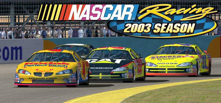 NASCAR Racing 2003 Season Free Download FULL PC Game