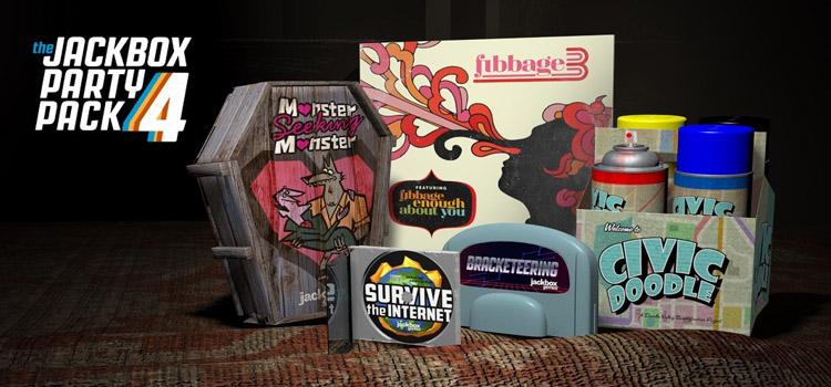 The Jackbox Party Pack 4 Free Download Cracked PC Game
