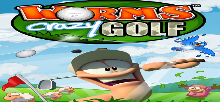 Worms Crazy Golf Free Download FULL Version PC Game