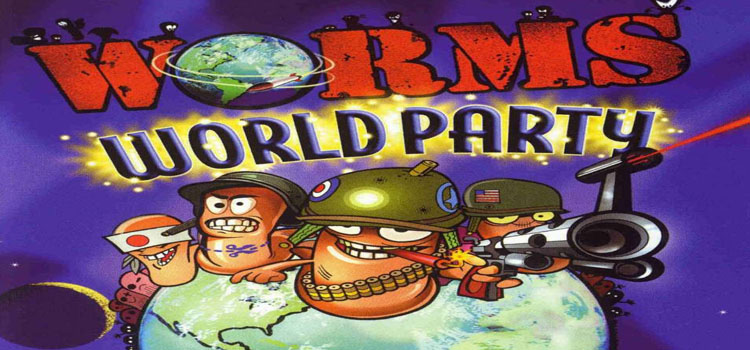 Worms World Party Free Download FULL Version PC Game