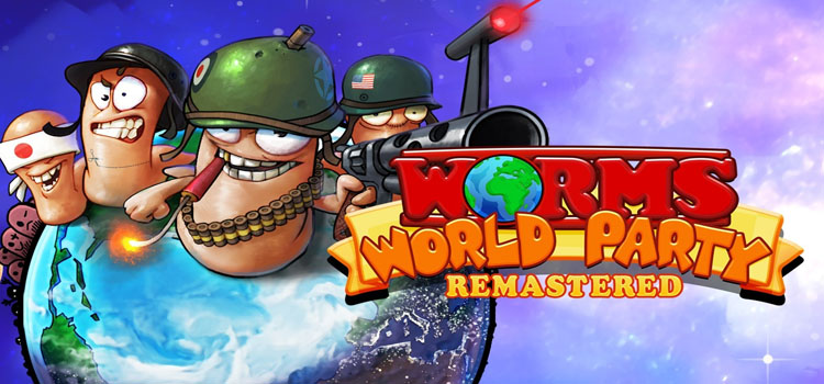 Worms World Party Remastered Free Download Full PC Game