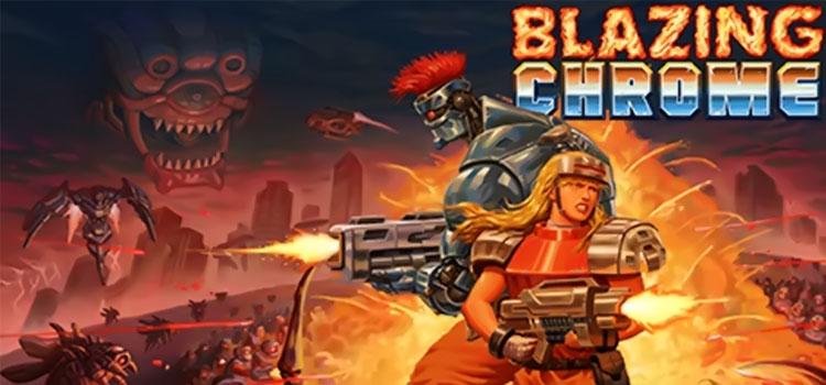 Blazing Chrome Free Download Full Version Crack PC Game