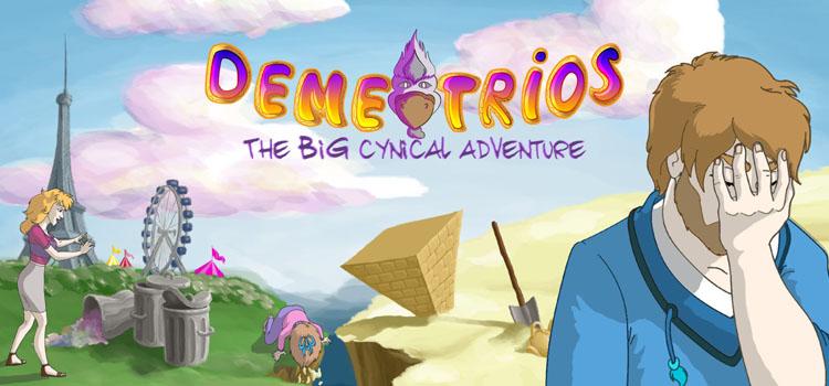 Demetrios The BIG Cynical Adventure Free Download PC Game