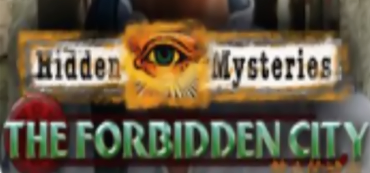 Hidden Mysteries The Forbidden City Free Download PC Game