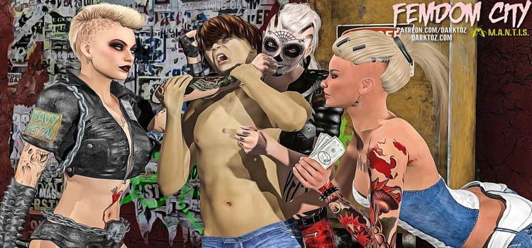 Femdom City MANTIS Free Download FULL Version PC Game