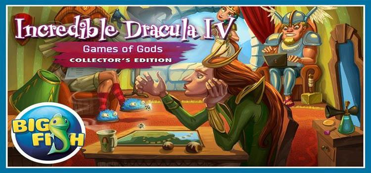 Incredible Dracula IV Game Of Gods Free Download PC Game