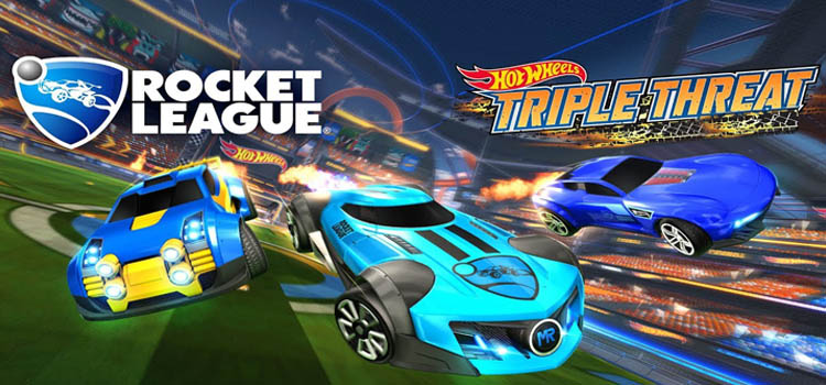Rocket League Hot Wheels Triple Threat Free Download PC