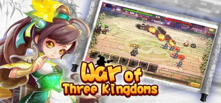 War Of Three Kingdoms Free Download Full Version PC Game