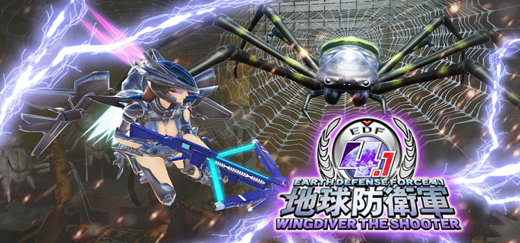 Earth Defense Force 4.1 Wingdiver The Shooter Free Download