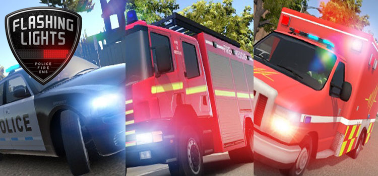 Flashing Lights Police Fire EMS Free Download PC Game