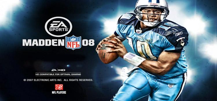 Madden NFL 08 Free Download Full Version Crack PC Game