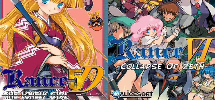 Rance VI And 5D Free Download FULL Version PC Game