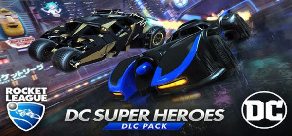 Rocket League DC Super Heroes Free Download Full PC Game