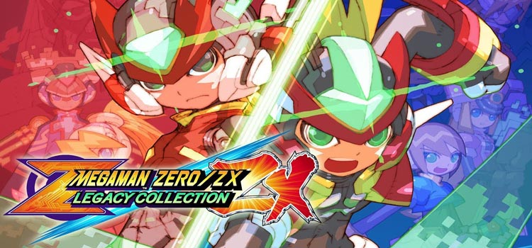 Mega Man Zero ZX Legacy Collection Free Download PC Game