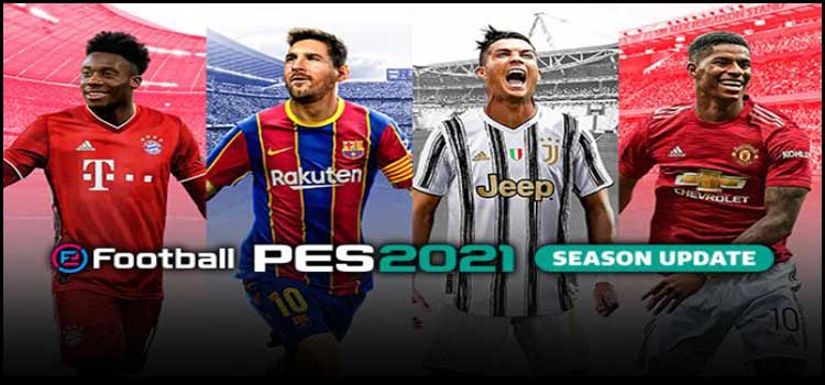 PES 2021 Free Download FULL Version Crack PC Game